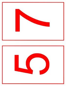 Number Cards 0-l0