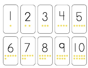 Unforgettable image inside printable numbers 1-10