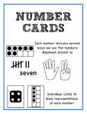 Number Cards 1-10