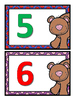 Beary Number Cards 1 - 10