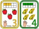 Number Cards 1-10 with Auslan Number signs