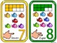 Number Cards 1-10 with Auslan Number signs-Fish Edition