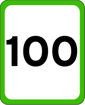 Number Cards to 100