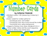 Number Cards 1-100 (color coded for skip counting!)