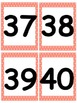 Number Cards 1-100 with Pink Polka Dot Border