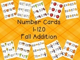 Number Cards 1-120 (Fall Theme)