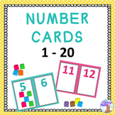 Number Cards 1-20