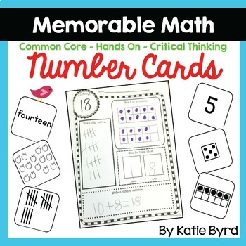 Number Cards 1-20 - Supplements for Early Numeracy