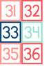 Number Cards 1-36
