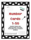 Number Cards 1-50