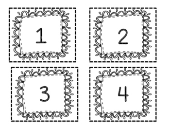 Number Cards 1-52