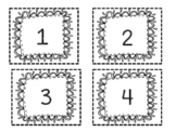 Number Cards 1-52