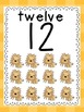 Number Posters (Bee Themed)