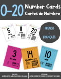 Number Cards (Cartes de Nombre) 0-20
