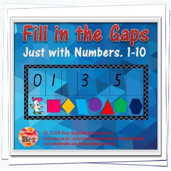 Number Cards - Fill the Gap Pack