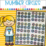 Number Cards- For Centers, Activities, Management and more