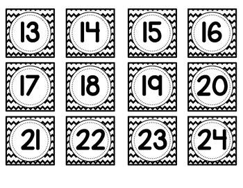 Number Cards [For Pocket Chart]