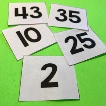 Number Cards Freebie 1-200