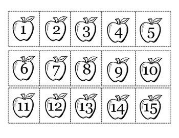 Number Cards Freebie