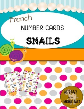 Number Cards - French