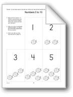 Number Cards Homework