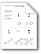 Number Cards Homework