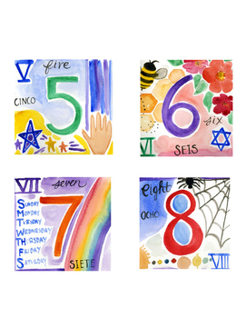 Number Cards- Numbers All Around Us