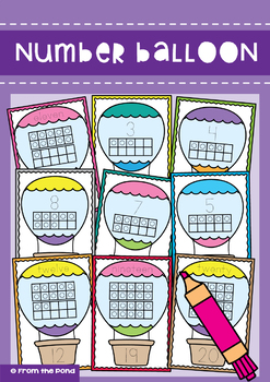Number Cards Pack 1 - Learning Numbers to 20