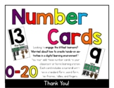 Number Cards - Printable