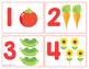 Number Cards - Spring Gardening