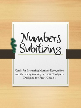 Number Cards & Subitizing to Ten