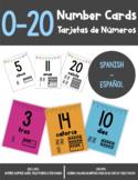 Tarjetas de Números (Number Cards) 0-20