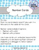 Number Cards - VISUAL SUPPORTS for numbers 1-20