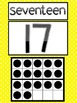 Number Cards for 0 to 20 (primary polka dots)