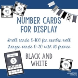Number and Ten Frame Posters for Classroom Display (Check and Chalkboard)