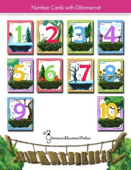 Number Cards for the Bulletin Board