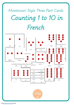 Number Cards in French