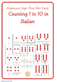 Number Cards in Italian