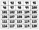 Number Cards 1 - 120  Number Tiles 1 - 100  Flashcards, Manipulatives, Numbers