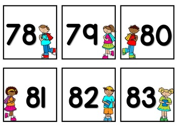 Number Cards to 120