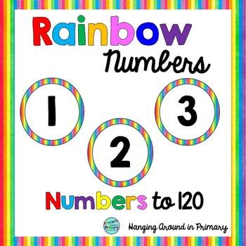 Numbers to 120 - Rainbow