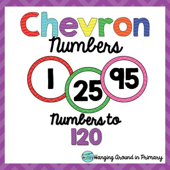 Numbers to 120 - Chevron
