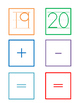 Number Cards to 20 AND symbol cards
