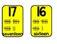 Number Cards/Classroom Numeral Display