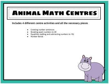 Number Center Activities