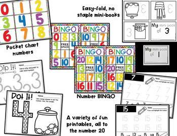 Number Centers and Activities for Pre-K and Kindergarten