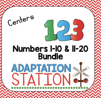Number Centers for Early Childhood or Special Education (The Bundle)