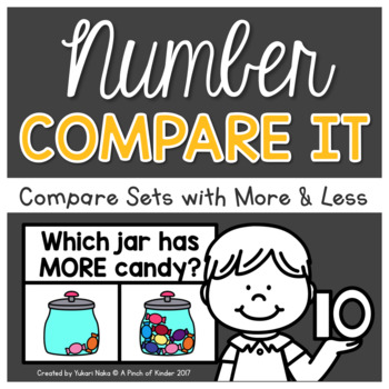 Number Centres: Number Compare It!