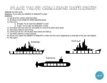 Number Challenge Battleship
