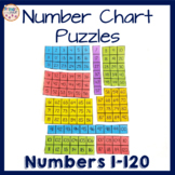 Number Chart 1-120 Math Puzzle